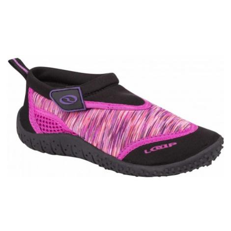 Loap SMART ružová - Detská obuv do vody