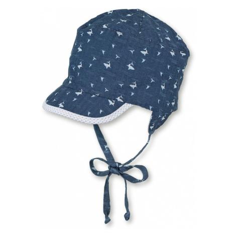 STERNTALER Klobúk  námornícka modrá / svetlomodrá / biela