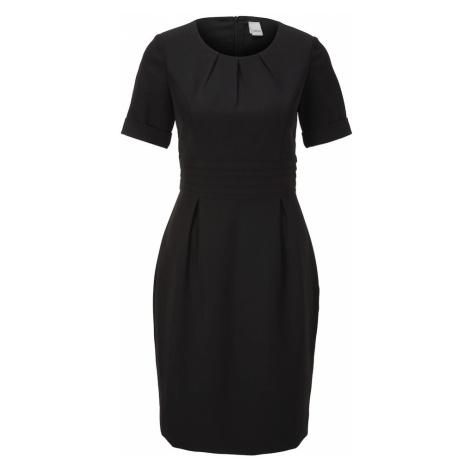 heine Puzdrové šaty  čierna