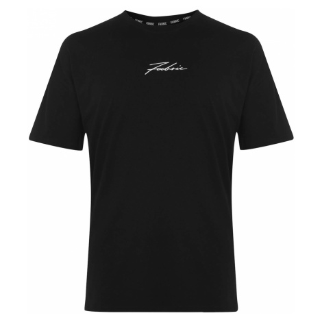 Fabric Large Logo T Shirt Ladies