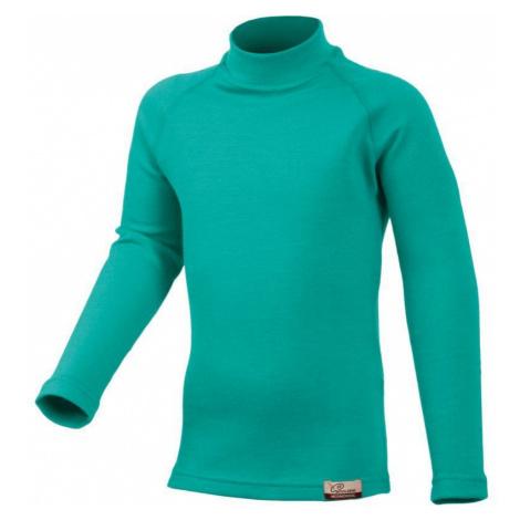 Merino triko Lasting SONY 6565 zelené vlnené