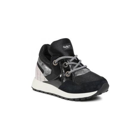 Pepe Jeans Sneakersy PLS31085 Čierna