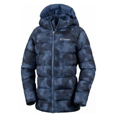 Columbia THE BIG PUFF JACKET tmavo modrá - Detská bunda