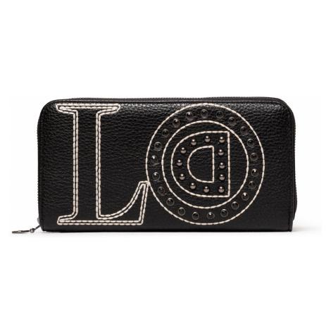 Desigual čierna peňaženka Mone Love Zip Around
