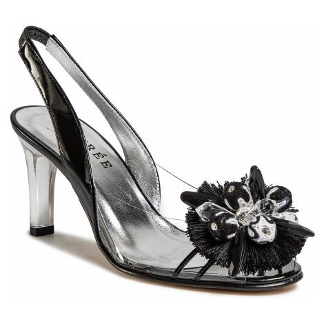 Sandále AZURÉE - Magna 01TC Vernis Noir/Motif Noir 01 Azurée