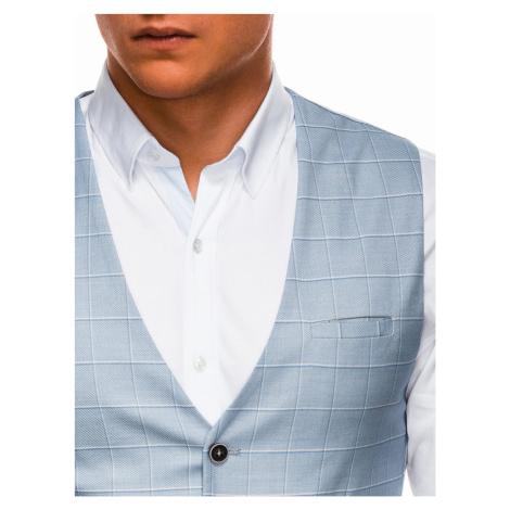 Pánska vesta Kessler světle modrá
