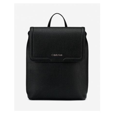 Calvin Klein Flap Batoh Čierna
