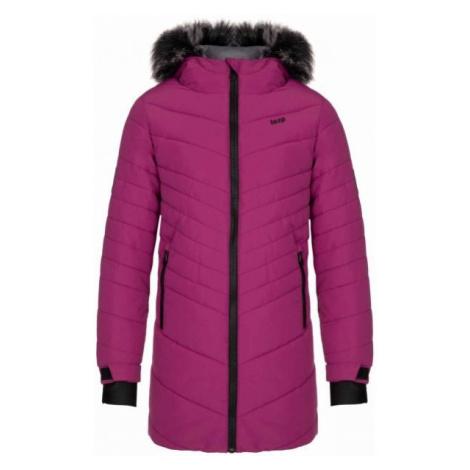 Loap OKTANA fialová - Dievčenský zimný kabát