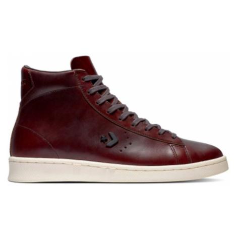 Converse Pro Leather High-9.5 bordová 168750C-9.5