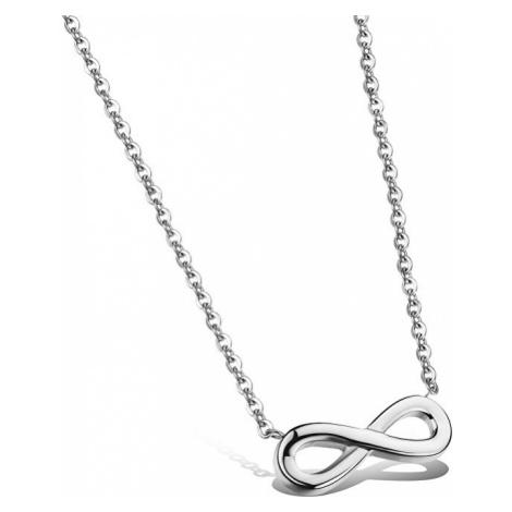 Troli Oceľový náhrdelník Nekonečno KNS-271