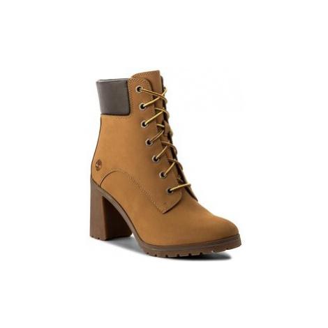 Timberland Členková obuv Allington 6 In Lace U A1HLS/TB0A1HLS2311 Žltá