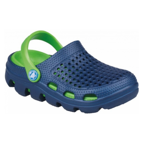 Coqui BUGY tmavo modrá - Detské sandále