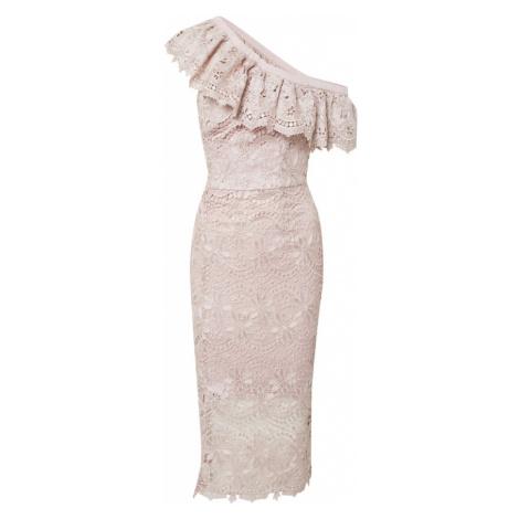 Chi Chi London Kokteilové šaty  rosé