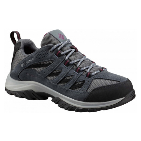 Columbia CRESTWOOD LOW WTP šedá - Dámska obuv