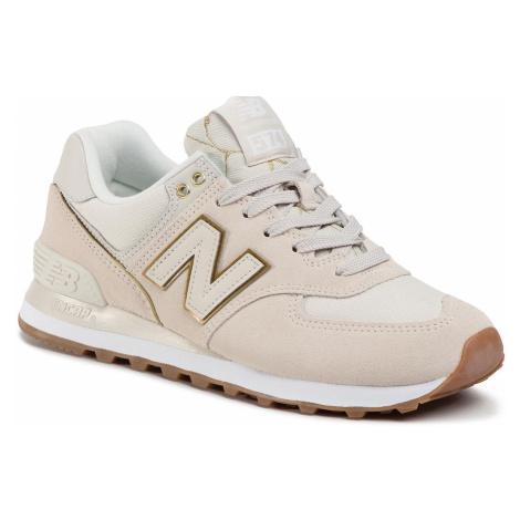 Sneakersy NEW BALANCE - WL574SOA Béžová