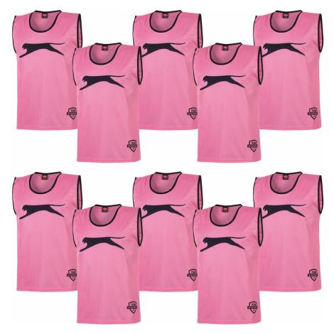 Slazenger Training Bibs Youths Pink