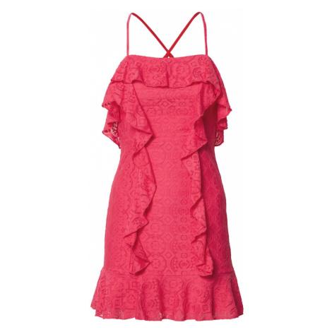 Love Triangle Kokteilové šaty 'Flamingo'  neónovo ružová