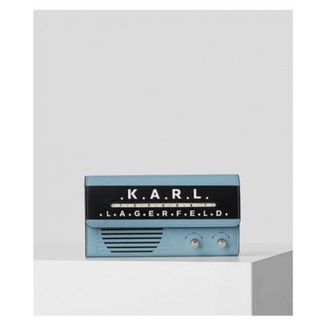 Peňaženka Karl Lagerfeld Ikon Radio Cont Flap Wt