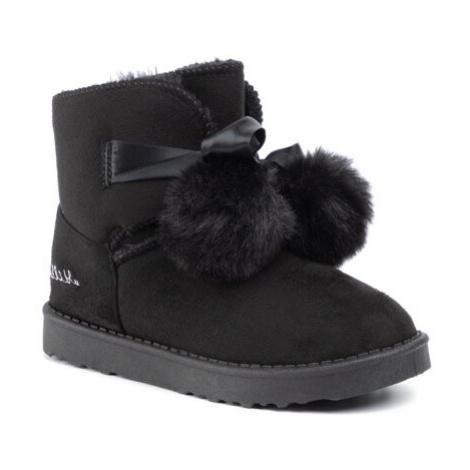 Členkové topánky Nelli Blu CSL1936-02 Látka/-Materiál