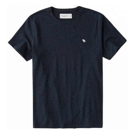 Abercrombie & Fitch Tričko  námornícka modrá