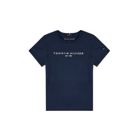 TOMMY HILFIGER Tričko Essential KB0KB05627 D Tmavomodrá Regular Fit