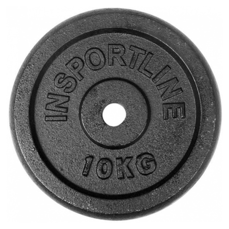 Oceľové závažie inSPORTline Blacksteel 10 kg