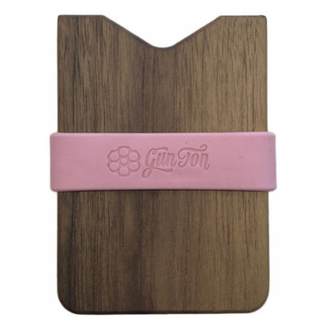 Gunton wooden wallet-One size hnedé gunton_pnk_1-One size