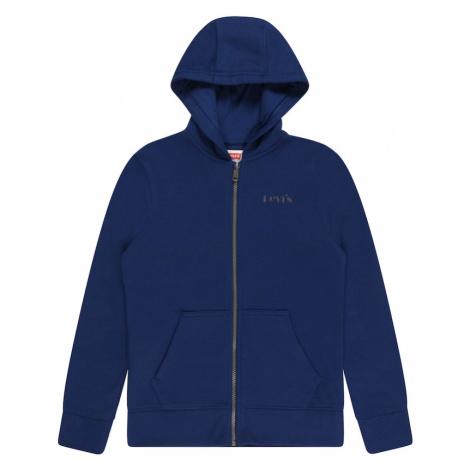 LEVI'S Tepláková bunda  modrá Levi´s
