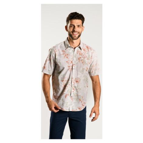 Kvetinová Extra Slim Fit košeľa s krátkym rukávom Alain Delon