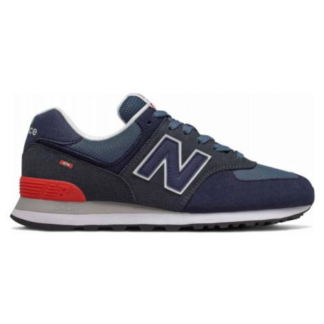 New Balance ML574EAE tmavo modrá - Pánska voľnočasová obuv