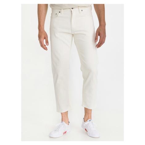 Vintage Cropped Jeans GAP Biela