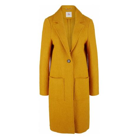 s.Oliver Prechodný kabát  žltá