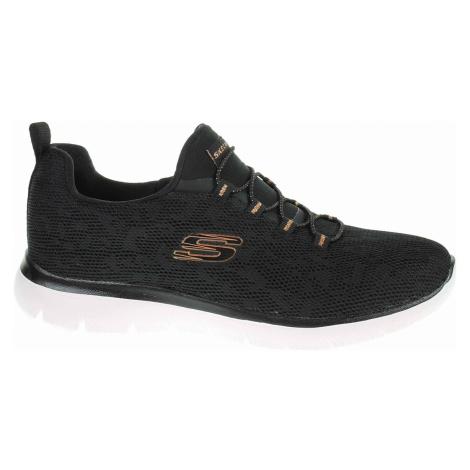 Skechers Summits - Leopard Spor black-rose gold 149037 BKRG