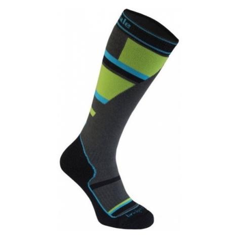 Ponožky Bridgedale Ski Mountain Junior grey/green/068