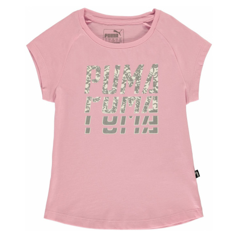 Puma Word T Shirt Infant Girls