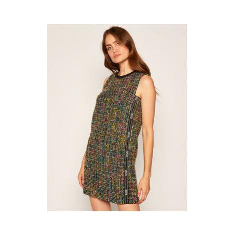 Versace Jeans Couture Úpletové šaty D2HZA437 Farebná Regular Fit
