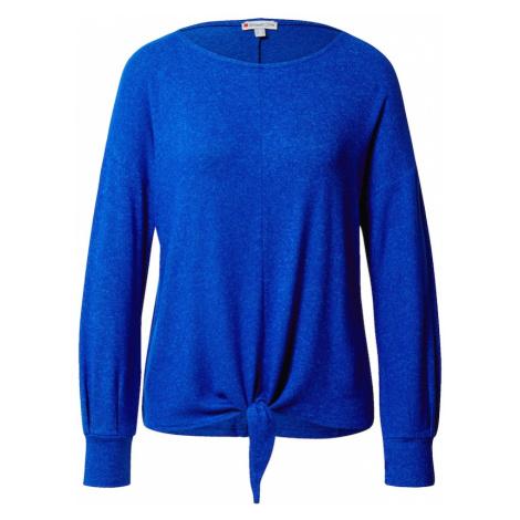STREET ONE Tričko  modrá melírovaná