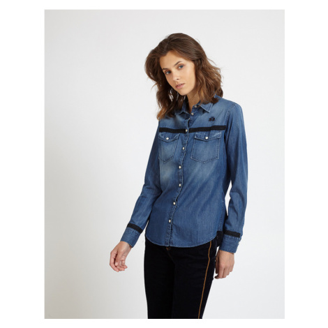 Košeľa La Martina Woman Shirt Denim
