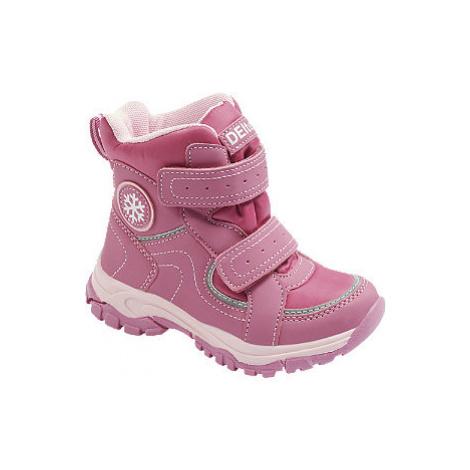 Ružová zimná obuv s TEX membránou Cortina