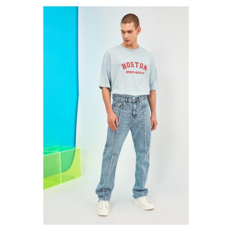 Pánske rovné džínsy Trendyol