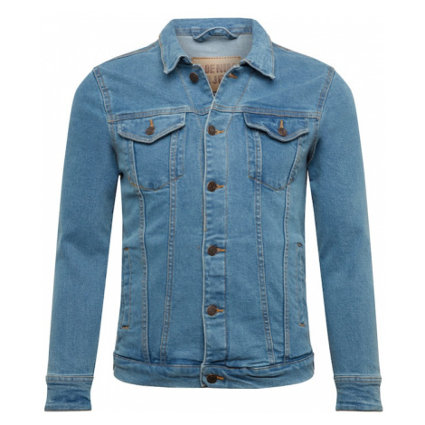 Denim Project Prechodná bunda 'Kash'  modrá denim