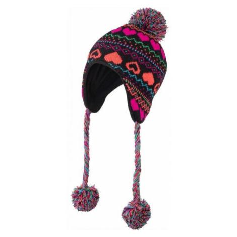 Lewro HANZ hnedá - Dievčenská pletená čiapka