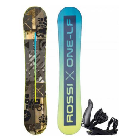 Rossignol ONE LF WIDE + CUDA M/L - Pánsky snowboard set set