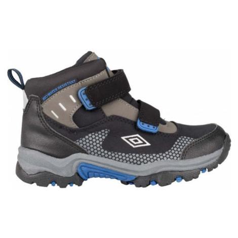 Umbro JON modrá - Detská trekingová obuv