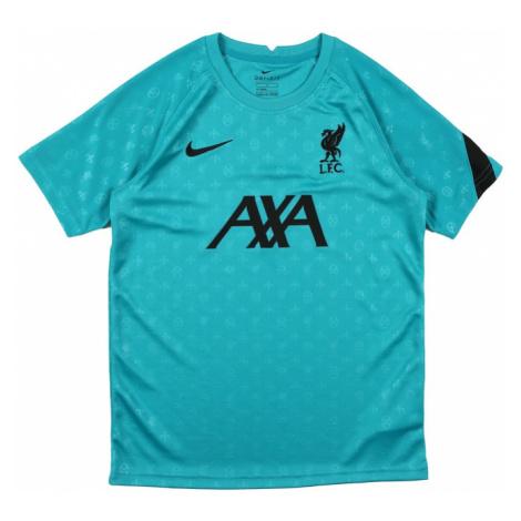 NIKE Funkčné tričko 'Liverpool FC'  čierna / tyrkysová