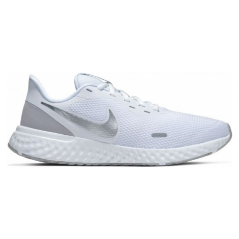 Nike REVOLUTION 5 W biela - Dámska bežecká obuv