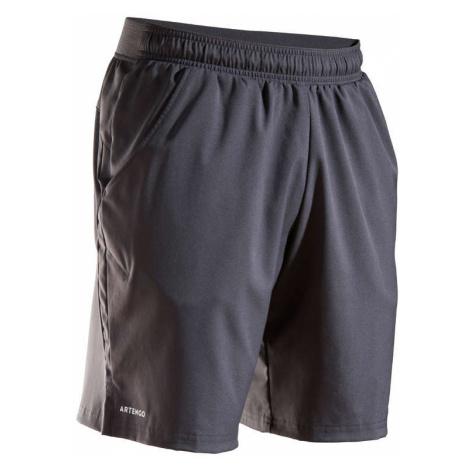 ARTENGO Pánske šortky Dry Tsh 500 Sivé