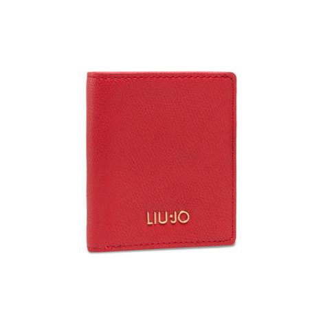 Liu Jo Malá dámska peňaženka Ecs Xs Bifold AA1207 E0017 Červená