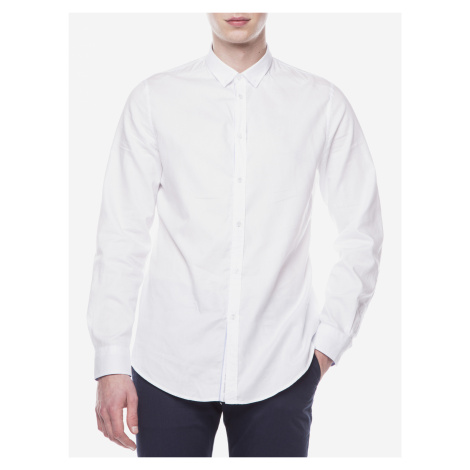 Košile Trussardi Jeans Biela