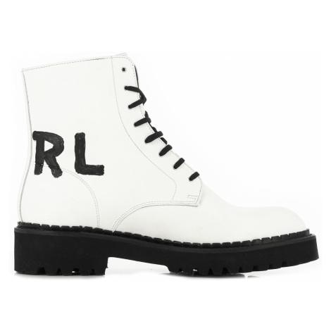 Členková Obuv Karl Lagerfeld Troupe Brush Logo Boot Hi